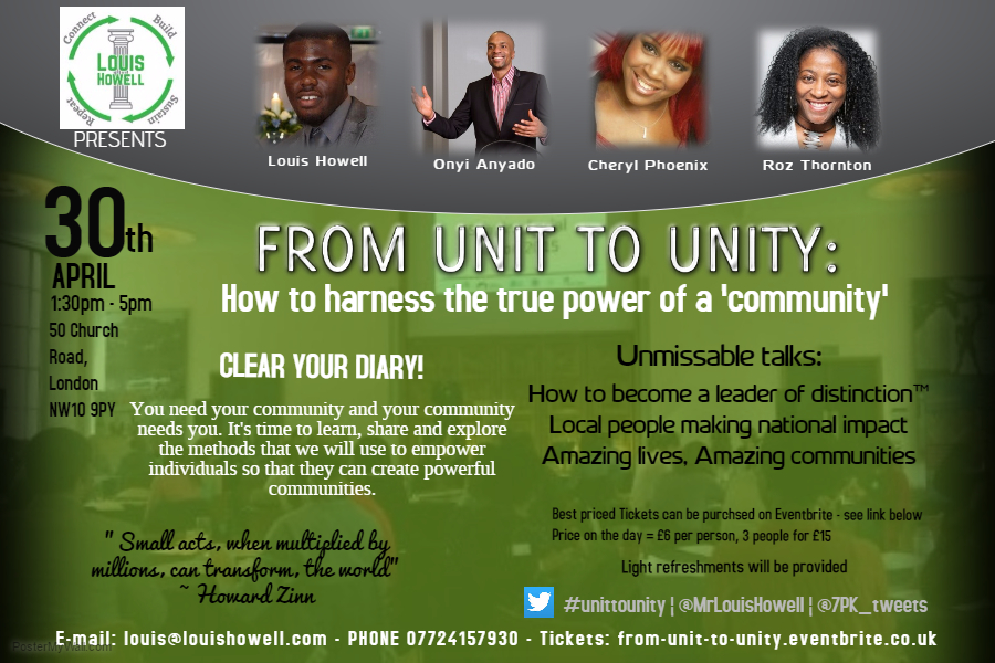 From Unity to Unity flyer